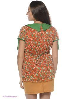 Блузки EUROMAMA                                                                                                              оранжевый цвет