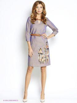 Платья Наталья Новикова                                                                                                              фиолетовый цвет