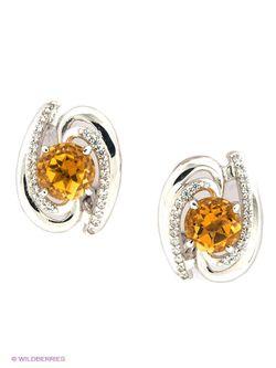 Ювелирные Серьги Lovely Jewelry                                                                                                              желтый цвет
