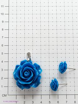 Комплекты Бижутерии Happy Charms Family                                                                                                              голубой цвет
