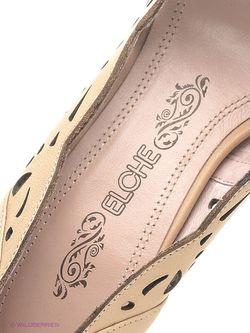 Туфли Elche                                                                                                              бежевый цвет