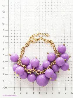 Браслеты Bijoux Land                                                                                                              фиолетовый цвет