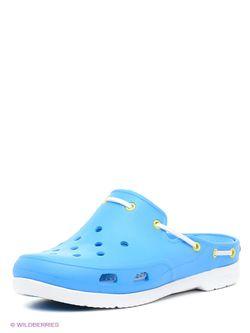 Сабо Crocs                                                                                                              голубой цвет