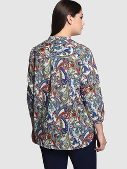 Блузки COUCHEL                                                                                                              синий цвет