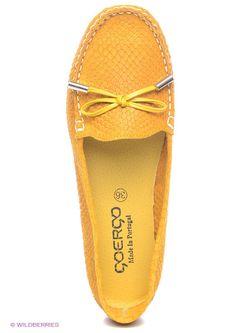 Мокасины Goergo                                                                                                              желтый цвет