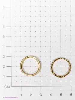 Кольца Royal Diamond                                                                                                              Бирюзовый, Золотистый цвет