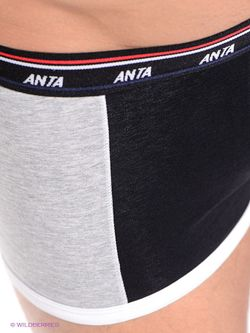 Трусы Anta                                                                                                              чёрный цвет