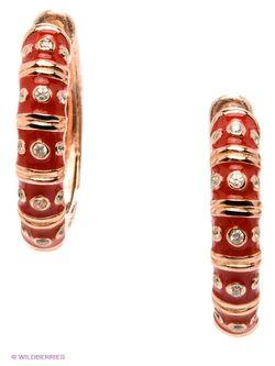Ювелирные Серьги Happy Garnets                                                                                                              красный цвет