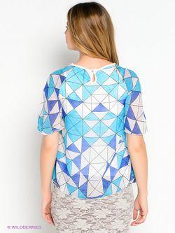 Блузки One plus One                                                                                                              голубой цвет