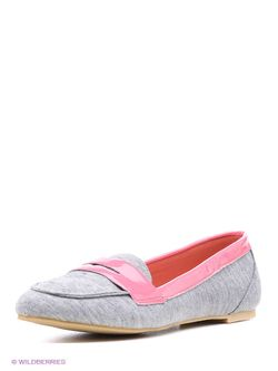 Туфли Oodji                                                                                                              розовый цвет