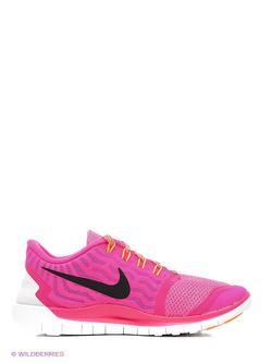 Кроссовки Nike                                                                                                              розовый цвет
