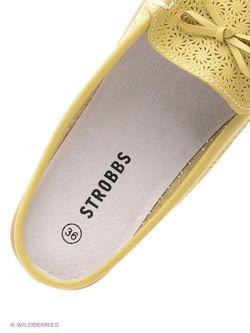 Мокасины Strobbs                                                                                                              желтый цвет