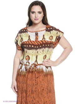Платья Amelia Lux                                                                                                              Терракотовый, Салатовый цвет