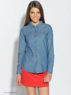 Рубашки Caterpillar                                                                                                              голубой цвет
