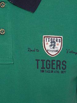 Поло TOM TAILOR                                                                                                              зелёный цвет