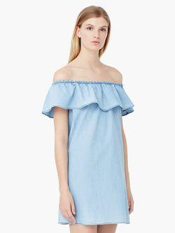 Платья Mango                                                                                                              голубой цвет