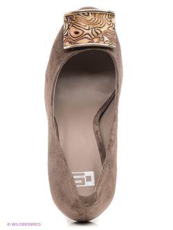 Туфли Calipso                                                                                                              коричневый цвет
