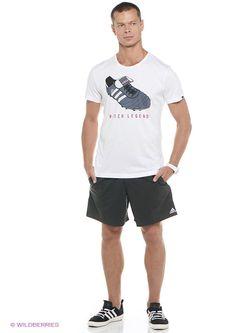 Футболки Adidas                                                                                                              белый цвет