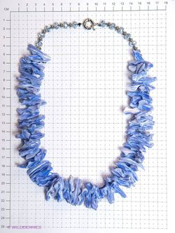 Колье Infiniti                                                                                                              синий цвет