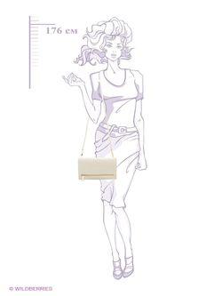 Сумки Kira Plastinina                                                                                                              Кремовый цвет