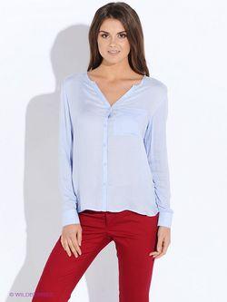Блузки Mango                                                                                                              голубой цвет