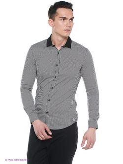 Рубашки Oodji                                                                                                              черный цвет