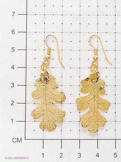 Серьги Ester Bijoux                                                                                                              Золотистый цвет