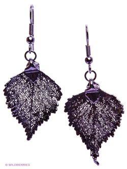 Серьги Ester Bijoux                                                                                                              фиолетовый цвет