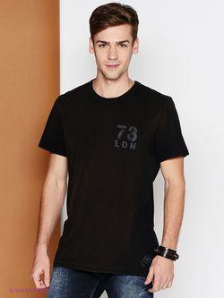 Футболка Pepe Jeans London                                                                                                              чёрный цвет