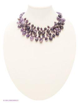 Колье Art Silver                                                                                                              фиолетовый цвет