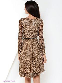 Платья Zarina                                                                                                              коричневый цвет