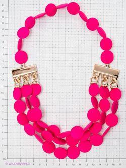 Колье Lovely Jewelry                                                                                                              розовый цвет