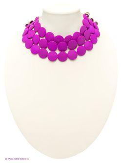 Колье Lovely Jewelry                                                                                                              Фуксия цвет