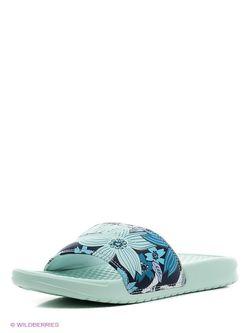 Шлепанцы Nike                                                                                                              голубой цвет
