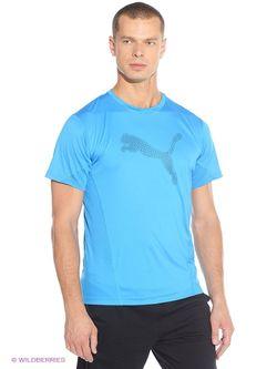 Футболка Puma                                                                                                              голубой цвет