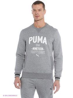Толстовки Puma                                                                                                              серый цвет
