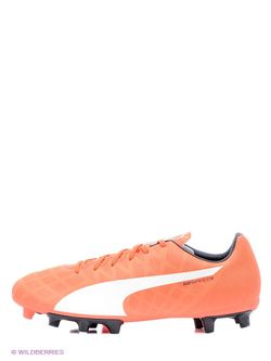 Бутсы Puma                                                                                                              оранжевый цвет
