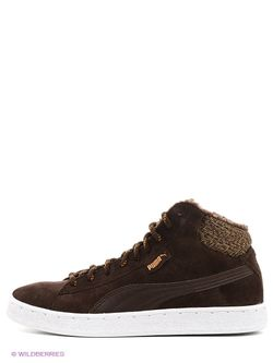 Кроссовки Puma                                                                                                              коричневый цвет