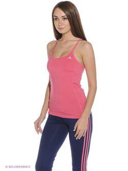 Топ Adidas                                                                                                              розовый цвет