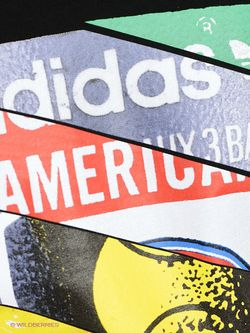 Футболка Adidas                                                                                                              черный цвет
