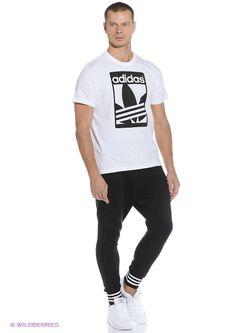 Футболка Adidas                                                                                                              белый цвет