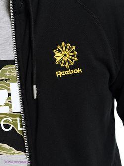 Толстовки Reebok                                                                                                              черный цвет