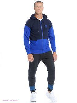 Джемперы Reebok                                                                                                              синий цвет