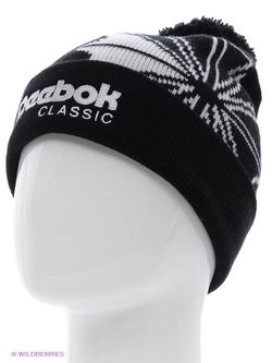 Шапки Reebok                                                                                                              черный цвет