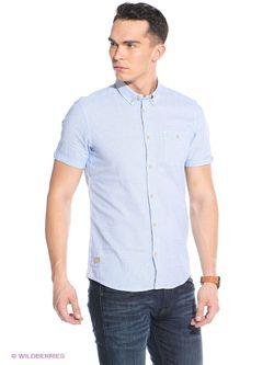 Рубашки TOM TAILOR                                                                                                              синий цвет