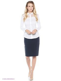 Блузки Sela                                                                                                              белый цвет