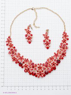 Комплекты Бижутерии Migura                                                                                                              красный цвет