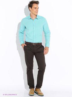 Рубашки BAWER                                                                                                              Бирюзовый цвет