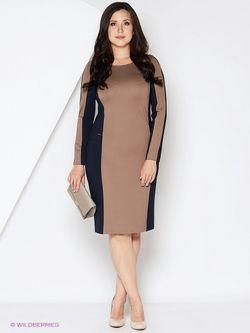 Платья Femme                                                                                                              бежевый цвет