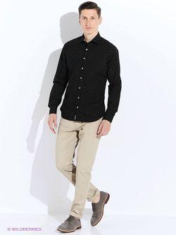 Рубашки Mango Man                                                                                                              чёрный цвет